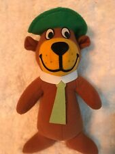 "Mighty Stars Yogi Bear & Boo Boo Plush 11"" 1980 Hanna Barbera Stuffed Animal"