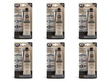 6x K2 Silikon Silikon Hochtemperatur Dichtmasse +350° schwarz 85g