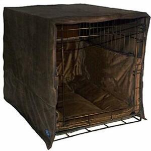 Pet Dreams New Double Door 3 Piece Crate Bedding Set. The Original Crate Cover,