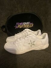 New listing New Rebel Athletic Ruthless 2.0 Cheer Shoe (White Size Adult 7.5)