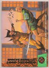 Wolverine vs Shingen #148 Fleer Ultra X-Men Base Trading Card