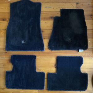 LEXUS Genuine IS250/IS350 Carpet Floor Mat Set - Charcoal, Automatic 2005-2013