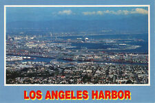 "Postcard: ""Los Angeles Harbor "" Los Angeles,California. Fast Shipping"