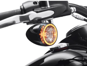 Harley- Davidson Front Signature LED Turn Signal Inserts - 67801184