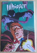 First Comics Whisper #5 , Good Condition
