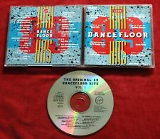 The original dancefloor' 89 Hits vol 1 1989 GERMANY CD TOP RARE Blow Azra 2 Kut
