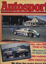 Autosport September 9th 1982 *Spa 1000 Km's & TWR Jaguar XJS