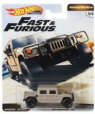 HOT WHEELS 2019 FAST & FURIOUS, FURIOUS OFF-ROAD, HUMMER H1. #5/5