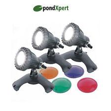 PondXpert BrightPond Garden Pond Lighting 3 x 20w Submersible Lights
