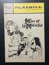 Man of La Mancha Martin Beck Theatre Playbill February 1970 Keith Mitchell