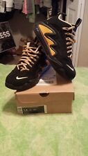 7.5 Mens black/gold wolf grey Air Max 360 Diamond Griffin