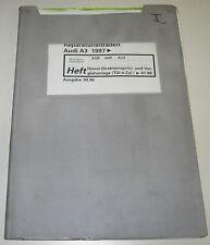 Werkstatthandbuch Audi A3 Typ 8L Diesel Direkteinspritzanlage TDI 4 Zylinder