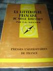 LA LITTERATURE FRANCAISE DU SIECLE ROMANTIQUE PAR V. L. SAULNIER N.156