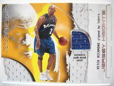 2001-02 FLAIR JERSEY HEIGHTS  GAME JERSEY MITCH RICHMOND  WIZARDS  (B54)