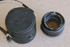 Pentax Super Takumar 50mm F1.4 Manual Focus Lens w case M42 mount Asahi Optical