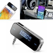 Wireless 3.5mm FM Transmitter For Car Aux MP3/4 IPOD iPhone Samsung Hands Free U