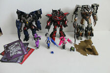 Transformers Studio Series lot complete Megatron Sentinal Prime Thundercracker