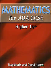 Very Good, Mathematics for AQA GCSE HigherTier, Alcorn, Banks, Mr Tony, Book