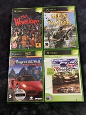 Original Xbox Game Bundle Les guerriers, RalliSport Challenge, PGR2, Men of Valor