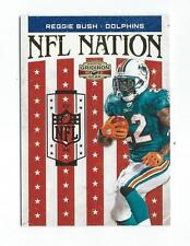 2010 Panini Gridiron Gear NFL Nation Gold #29 Reggie Bush Dolphins /100