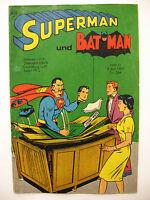 Superman Heft 11, 3.Juni 1967, Ehapa-Verlag, gelocht, Zustand 3
