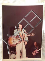 ELVIS PRESLEY 5x7 RARE UNPUBLISHED ORIGINAL PHOTO OLD KODAK PAPER
