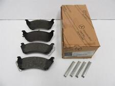 OEM 1998-2003 Mercedes-Benz 163 ML 320 6 Cyl set of Rear Brake Pads A1634200420