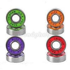 10PCS Frictionless ABEC 9 Skateboard Roller Skate Wheels Scooter Spare Bearings