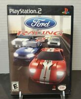 Ford Racing 2 (Sony PlayStation 2, 2003) PS2 Complete w/ Manual. Tested!!!