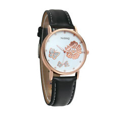 Noblag Mademoiselle Luxury Women's Watches Luminous White Dial 38mm