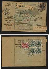 Germany    parcel  card    1907            KL0723