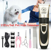 AU Pet Electric Cat Dog Groomer Clipper Cordless Hair Grooming