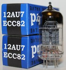 Matched Pair Mullard 12AU7 / ECC82 pre-amp tubes, Reissue, NEW