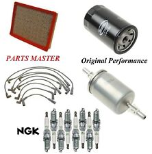 Tune Up Kit Filters Spark Plugs Wire For CHEVROLET CAPRICE V8 5.7L; MFI 1996