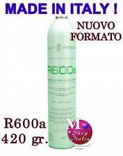 Gas per ricarica Frigorifero refrigerante SUPER OFFERTA 2 Bombole R600a 420 gr