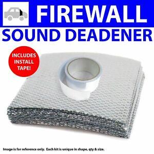 Heat & Sound Deadener Camaro 1993 - 2002 Firewall Kit + Seam Tape 9000Cm2