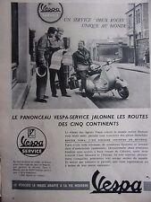 publicité de presse   VESPA    en 1956    ref. 31200