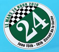 LE MANS 24 HOURS 2019 PAIR of DOOR NUMBER stickers decals 350mm wide