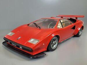 Vintage 80' Tamiya 1/12 R/C LP500S Lamborghini Countach Great for Parts Restore