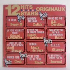 "33T 12 HITS STARS ORIGINAUX Vinyle LP 12"" DALIDA- RINGO- SORRENTI -CARRERE 67381"