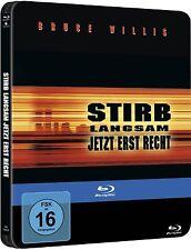 STIRB LANGSAM 3, Jetzt erst recht (Bruce Willis) Blu-ray Disc, Steelbook NEU+OVP