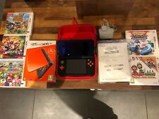 Nintendo New 3DS XL Orange and Black Handheld System