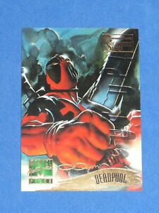 1995 Marvel Masterpieces EMOTION SIGNATURE GOLD CARD SINGLE #120 DEADPOOL! RARE!