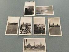 7 1938'S ORIGINAL  Photo TORONTO CANADA / SKYLINE FERRY TERMINAL FALLS SEAPLANES