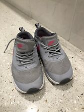 NIKE AIR MAX THEA GIRLS GREY/PINK RUNNING LACE UP TRAINERS UK SIZE 12