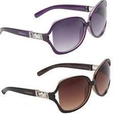 Damen Designer 'Rubin' Groß Stil Sonnenbrille
