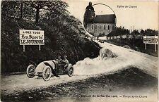 CPA Circuit de la Sarthe 1906 - Virage, apres Cherre (391135)