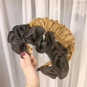 Hair Accessories Hairband Hair Hoop Pleated Flower Headband Women Turban Girls