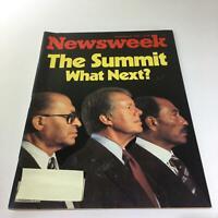 Newsweek Magazine: September 25 1978 - The Summit What Next?