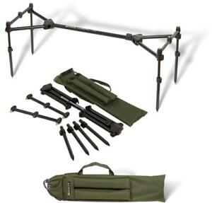 RADICAL CARP COMPACT Carp Fishing 3 Rod Fully Adjustable Lightweight Compact Pod